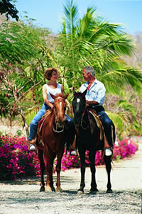 Horse Back Riding at Mazatlan